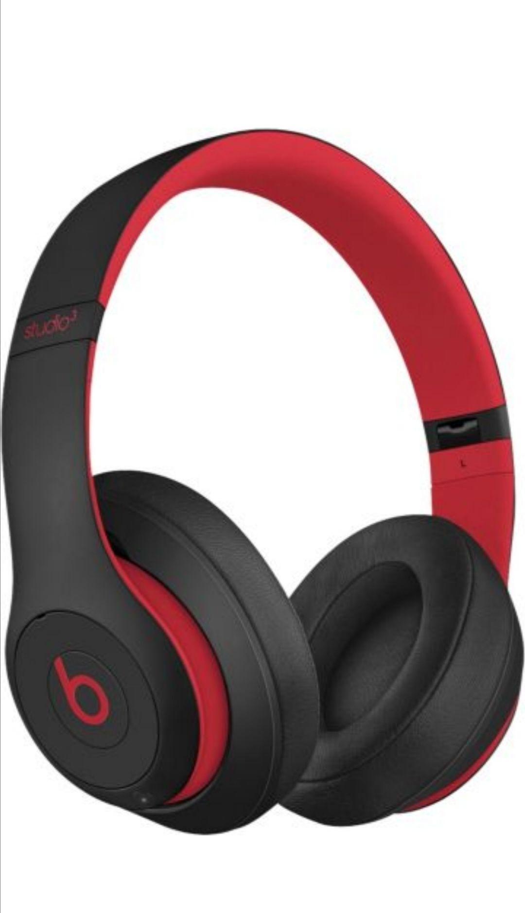 CasqueAudio Sans-fil BeatsStudio3 Wireless Black-Red Decade