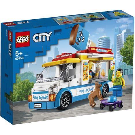 Jeu de construction Lego City - Le camion de la marchande de glaces n°60253