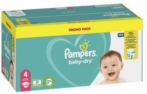Mega Pack de couches ou Pants Pampers Baby Dry - Différentes tailles (via 21,69 € sur la carte fidélité + 2,5€ en BDR)