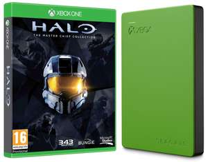 Disque dur externe Seagate 2To pour Xbox One + Jeu Halo Master Chief Collection sur Xbox One