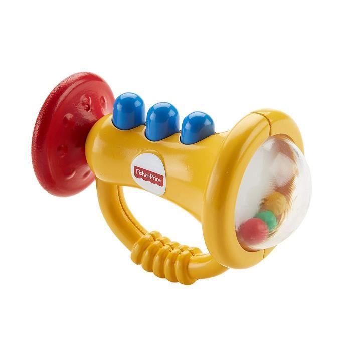 Hochet Trompette anneau de dentition pour bébé Fisher-Price