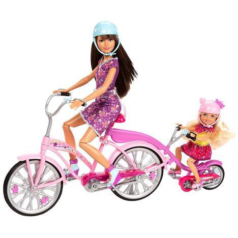 Poupée Barbie Mattel Tandem de Skipper et Chelsea