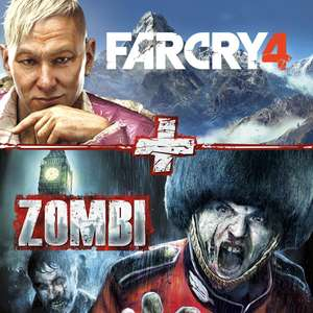 Far Cry 4 et Zombi (Bundle) sur PS4