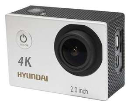 Caméra sportive Hyundai 4K WiFi (avec accessoires)