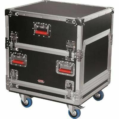 Gator Flight Case Top 14u + Rack 6U Intégré pour Tables de mixage