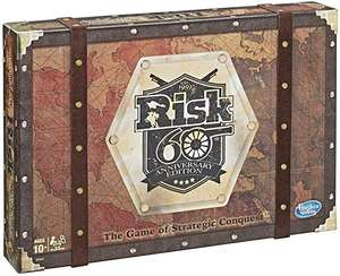 Jeu de société Hasbro Gaming Risk Edition 60ème anniversaire