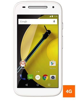 """Smartphone 4.5"""" Motorola Moto E 4G Blanc (ODR de 20€)"""