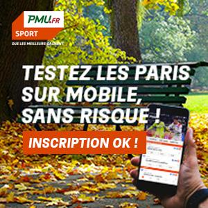 [Clients PMU] Jusqu'à 20€ de mises remboursées en un freebet pour tout premier pari sur l'application ou le site mobile PMU Sport