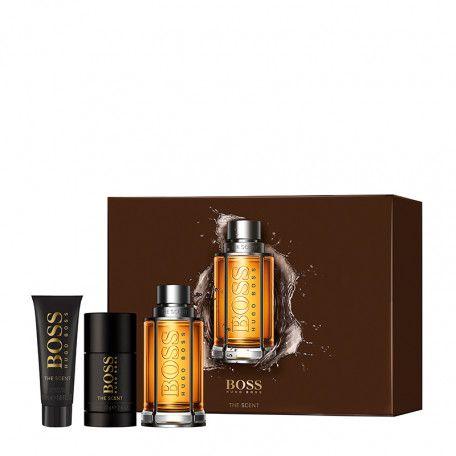 Sélection de coffrets parfum en promotion - Ex : Coffret eau de toilette Hugo Boss The Scent (100 ml) + Gel douche (50 ml) + Déodorant(75ml)