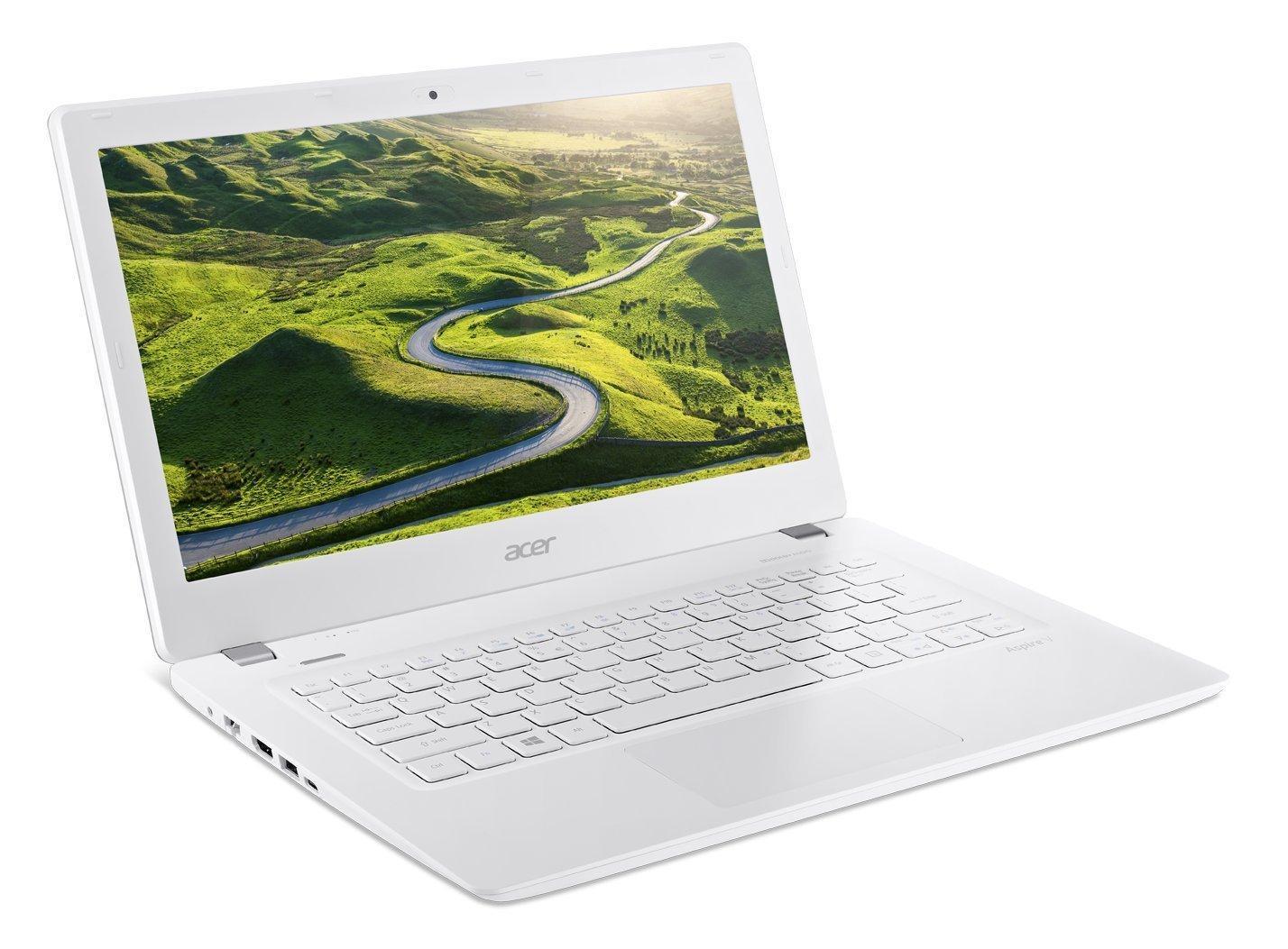 "PC Portable 13"" Acer Aspire V3-372T-53LA Blanc - Tactile, Full HD, Intel Core i5-6200U, RAM 8 Go, HDD 1 To, Windows 10"