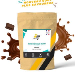 Native Whey Isolat AM Nutrition - 3 kg (saveur au choix) - boutique.all-musculation.com