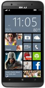 "Smartphone 5""  Windows Phone Blu Win 150X -  4G LTE (reconditionné) - Gris"