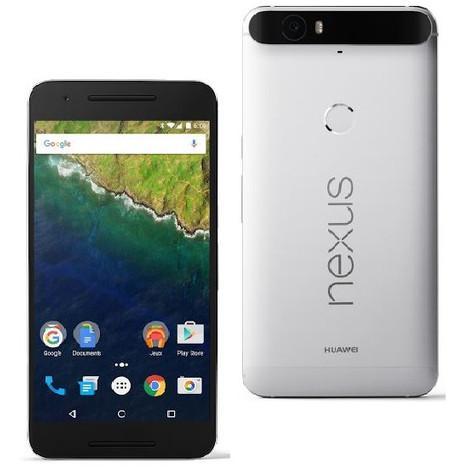 "Smartphone  6"" Huawei Nexus 6P Aluminium ou Graphite"