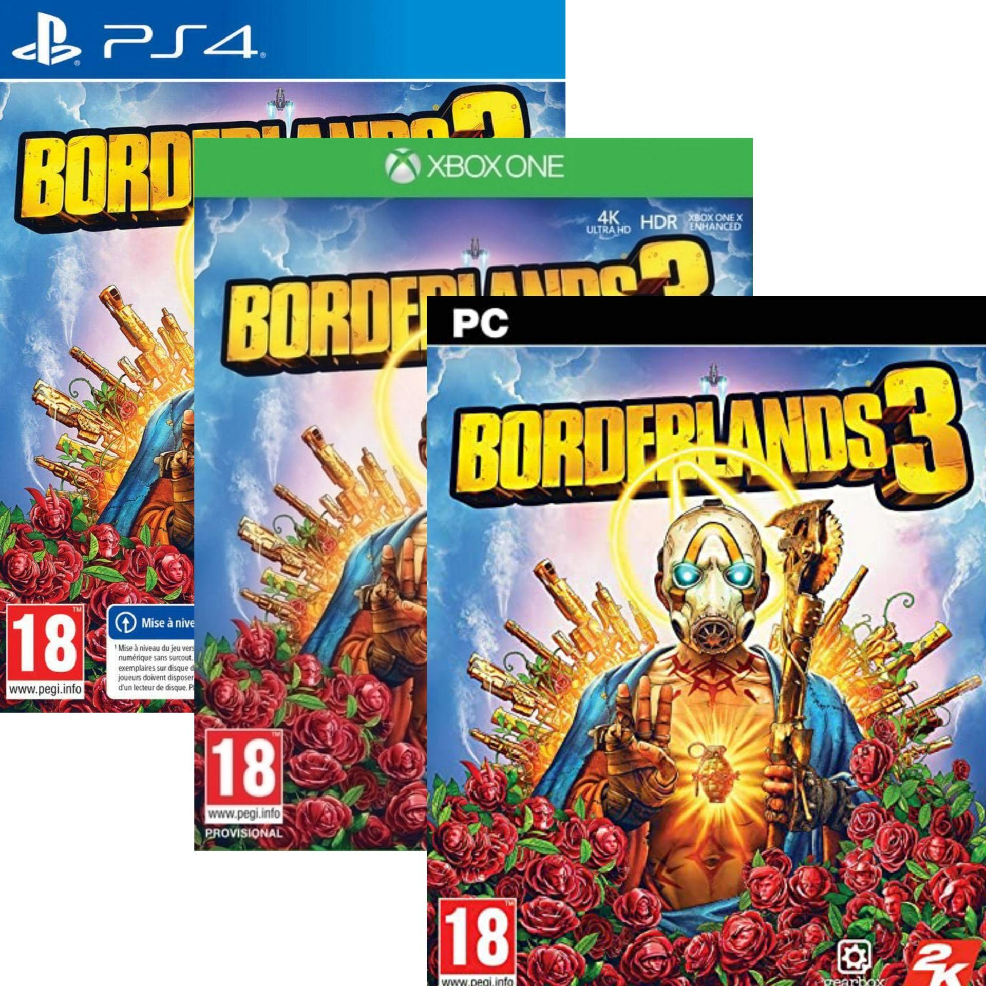 Borderlands 3 sur XboxOne à 8,99€ / PS4 & PC à 9,99€