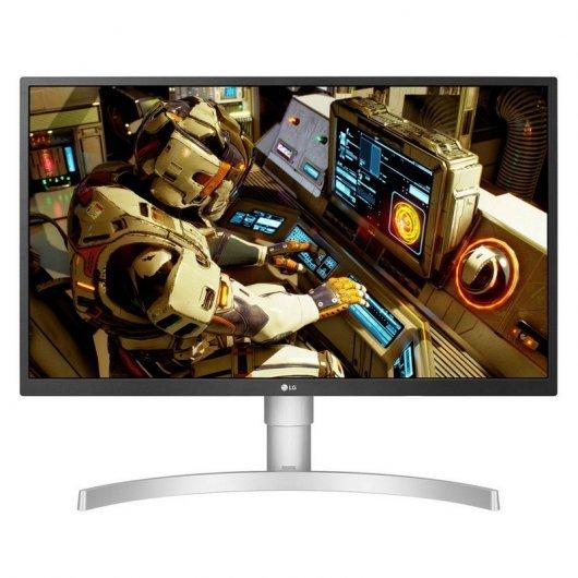 "Ecran PC LED 27"" LG 27UL550-W - IPS UHD 4K, 5ms, 60Hz, FreeSync, Flicker Free"