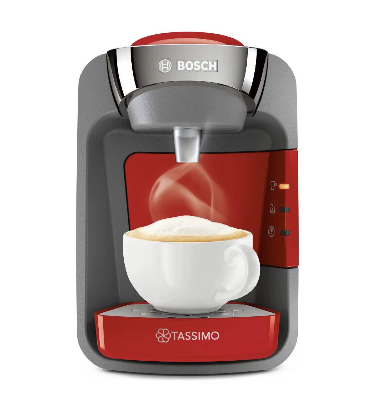 Machine café Tassimo Suny Tas 3208 Rouge coquelicot