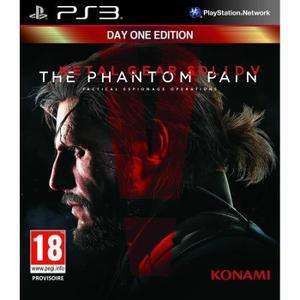 Metal Gear Solid V : The Phantom Pain Edition Day One sur PS3