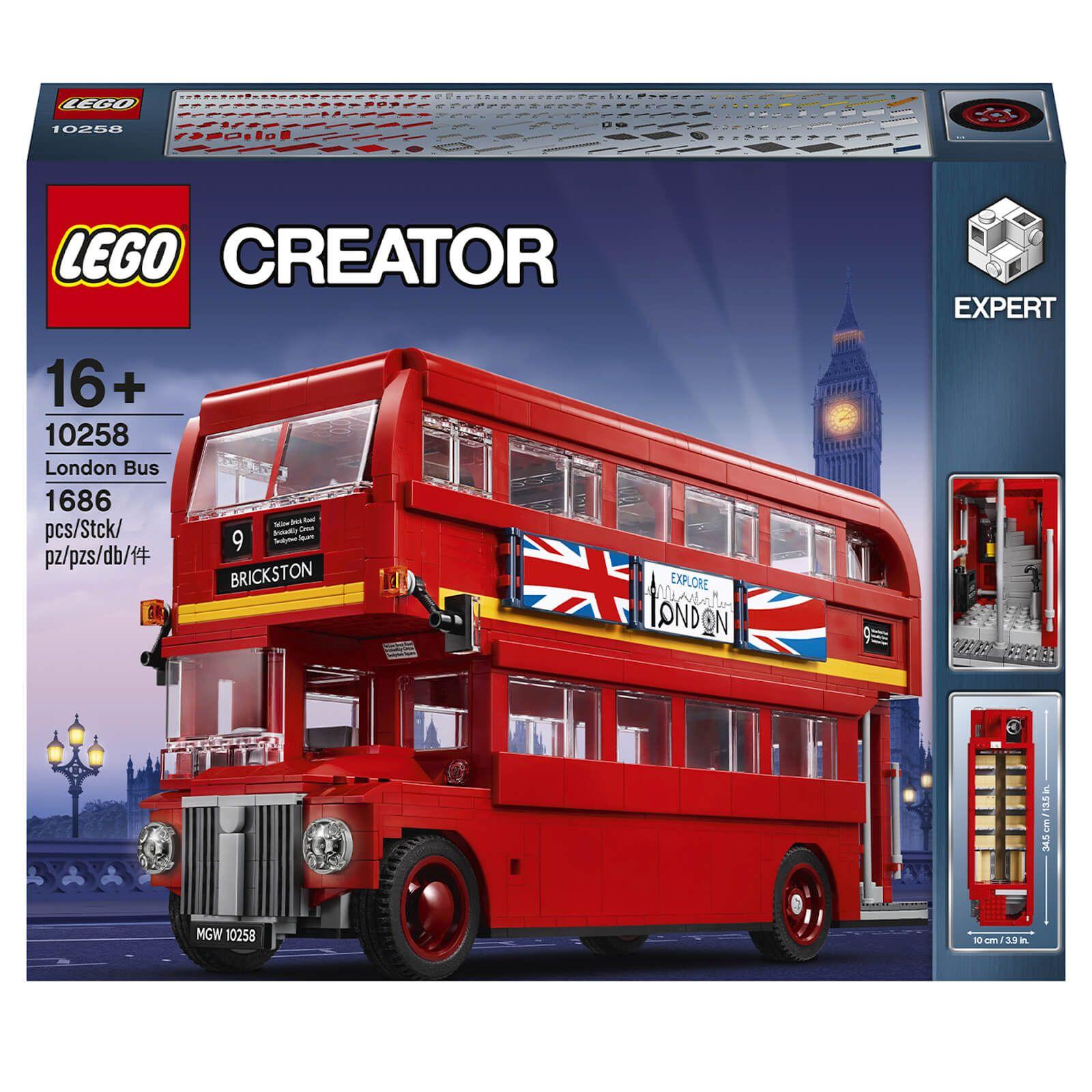 Jouet Lego Creator Expert: Le bus londonien (10258)