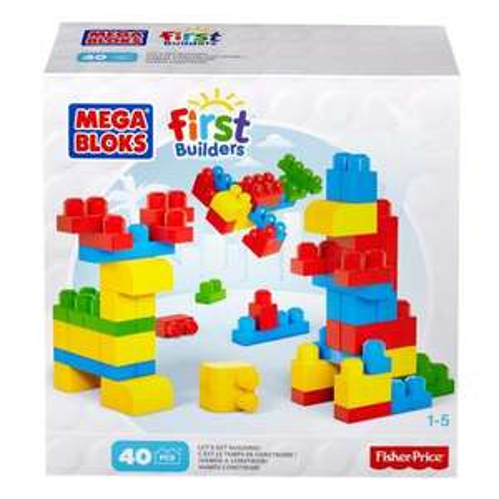 Mega Bloks First Builders 40 briques