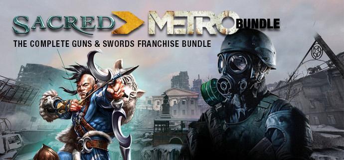 Bundle Sacred + Metro 2033 Redux + Shiplord offert + 1 jeu aléatoire offert (Dématérialisé - Steam)