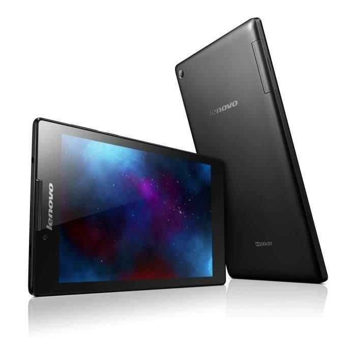 """Tablette 7"""" Lenovo IdeaTab 2 A7-10 Quad Core 8 Go - Noire (ODR de 20€)"""