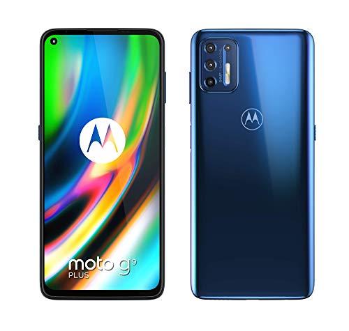 "Smartphone 6.81"" Motorola Moto G9 Plus - FHD+, HDR10, Snapdragon 730G, 5000mAh, 4 Go RAM, 128 Go"