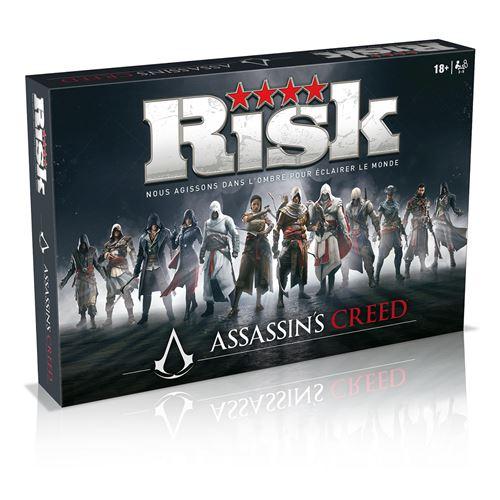 Jeu de société Winning Moves Risk Édition Assassin's Creed