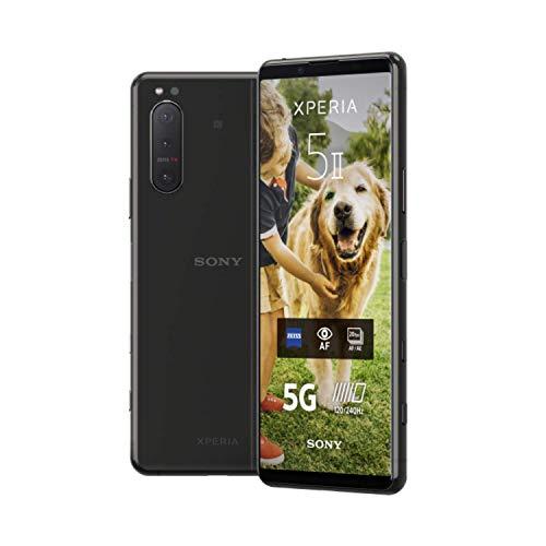 "Smartphone 6.1"" Sony Xperia 5 II 5G - FHD+ 120Hz OLED, 8Go RAM, 128Go ROM, SD865, IP68, Klinke, NFC, Dual-SIM, 4000mAh, 21W"