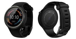 Montre connectée Motorola moto 360 2ème génération - Sport, Noir (ODR de 50€)