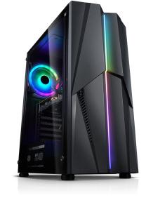 PC Fixe Gamer - Ryzen 5 3600X, 16Go RAM (3200 Mhz), 512 Go SSD, RTX 3070 (8 Go), B450M, Alim. 600W