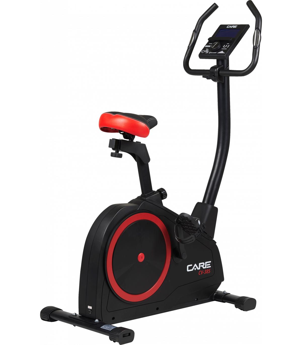 [Pré-commande] Vélo d'appartement connecté Care CV-385 (avec écran LCD) - CareFitness.com