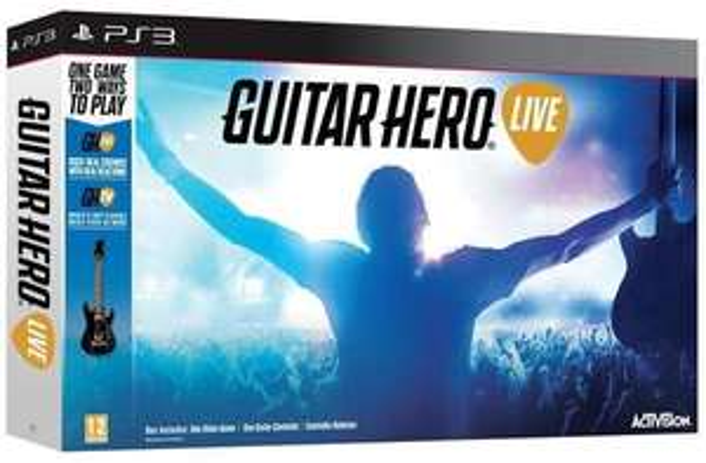 Pack Guitar Hero Live (jeu + guitare) sur PS3, Wii U et Xbox 360