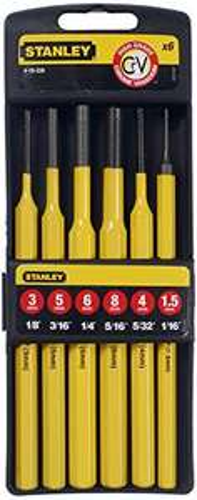 Set de 6 chasse-goupilles Stanley 4-18-226