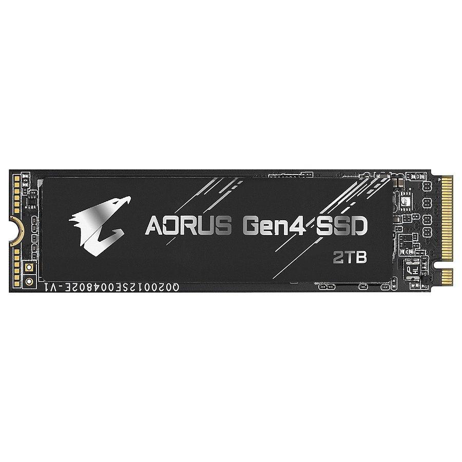 SSD interne M.2 GigaByte Aorus Gen4 NVMe (3D NAND TLC) - 2 To