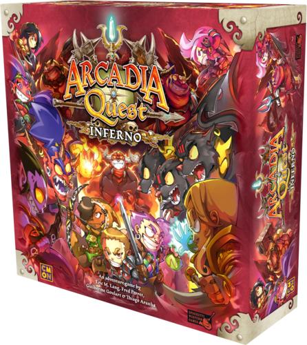 Sélection de jeux de société Asmodee - Exemple : Arcadia Quest Inferno