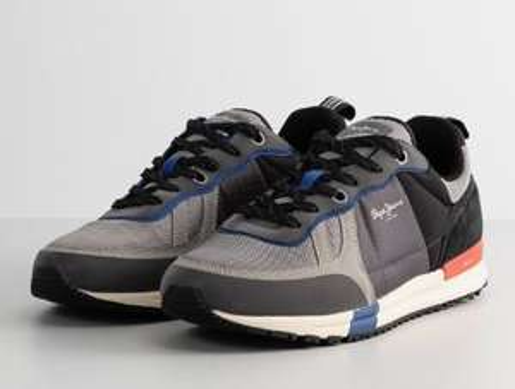 Chaussures basses Pepe Jeans - gris foncé (du 40 au 46)
