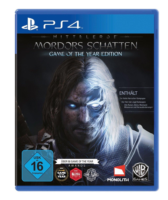 Jeu La terre du milieu : l'ombre du mordor sur PS4 - Edition GOTY