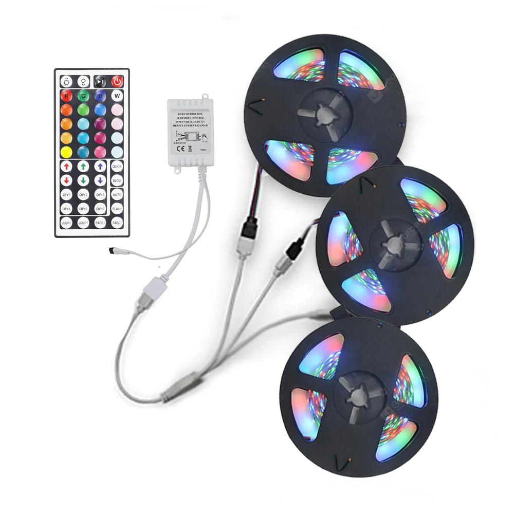 3 Bandes LED RGB avec Télécommande - 3x 5M