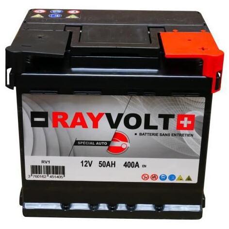 Sélection de batteries auto Rayvolt et Fulmen en promotion - Ex : Rayvolt RV1 - 50Ah 400A