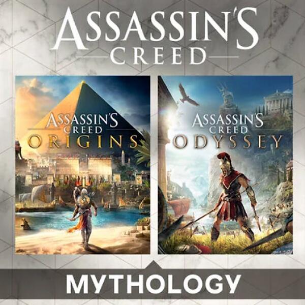 Pack de jeux : Assassin's Creed Origins + Assassin's Creed Odyssey sur PC (Dématérialisé - Uplay)