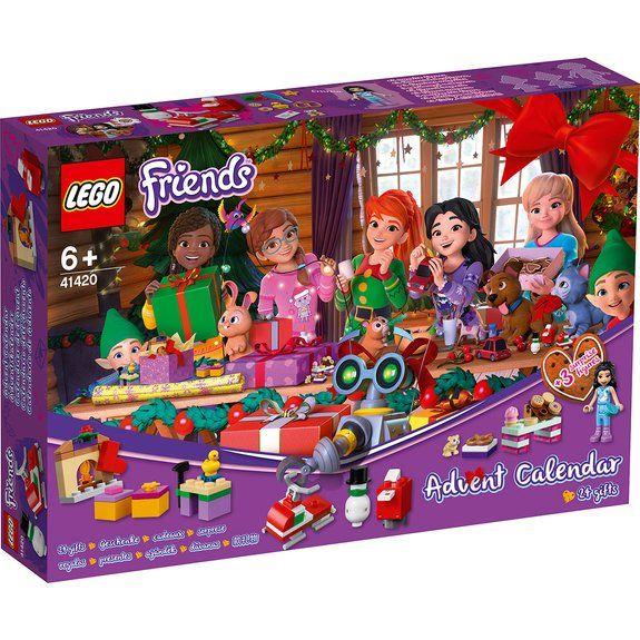 Lot de 2 calendriers de l'Avent Lego Friends (41420)