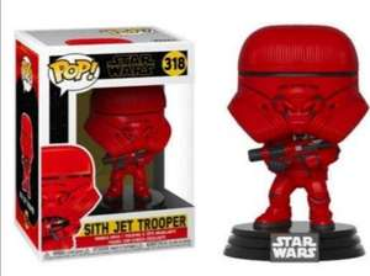 Figurine Funko Pop! Star Wars The Rise of Skywalker: Sith Jet Trooper