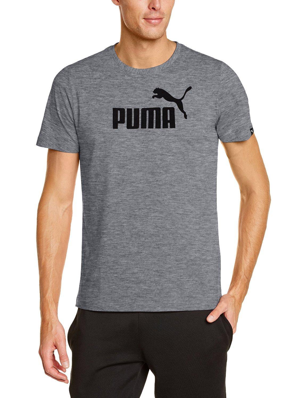 T-shirt homme Puma Gris (Toutes tailles)