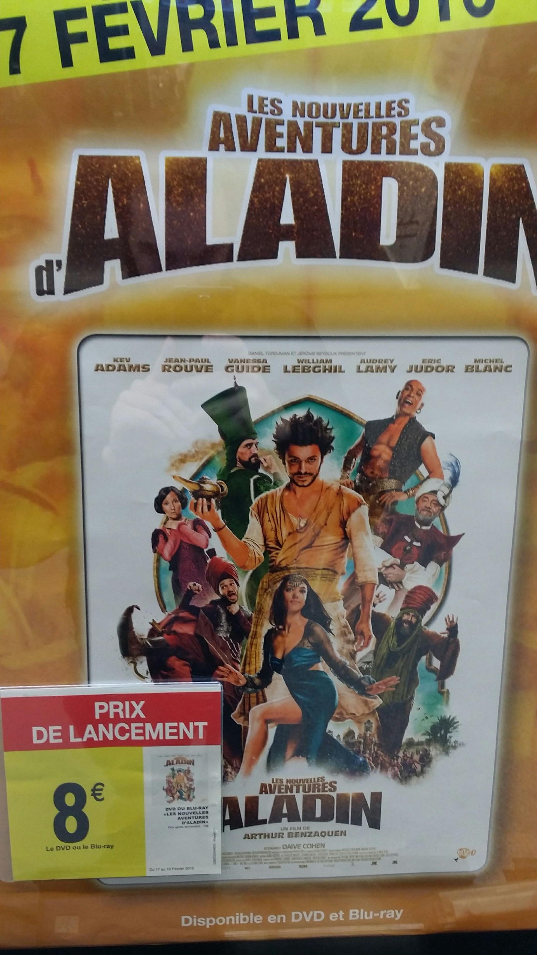 DVD ou Blu-ray : Les nouvelles aventures d'Aladin