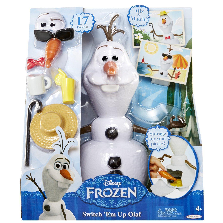 Figurine Transformable La Reine Des Neiges - Olaf Switch'em up