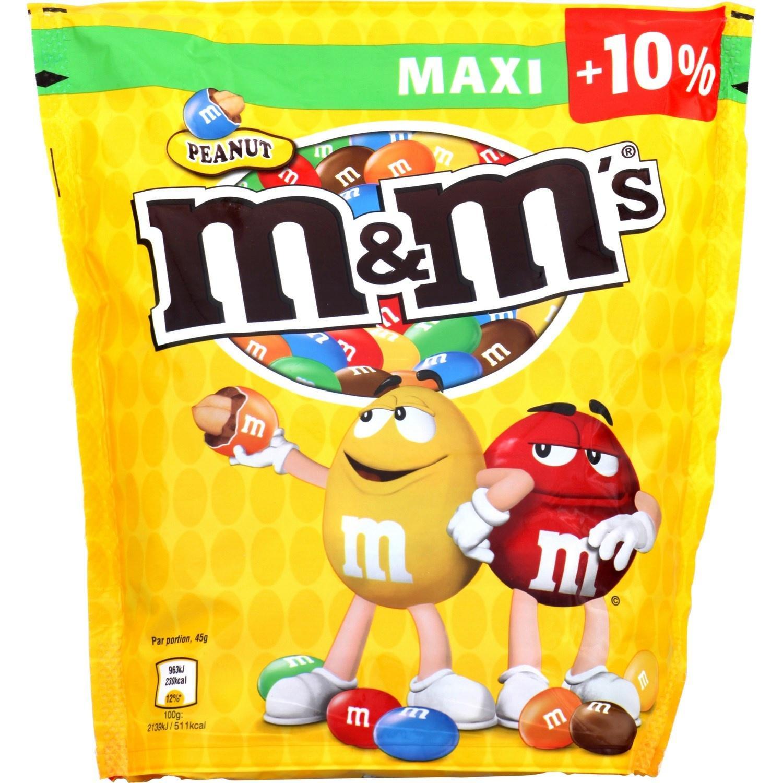Lot de 3 paquets de M&M's 550 g (avec BDR)