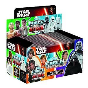 Topps Star Wars Force Attax - Le Réveil de la Force : Boîte de 50 boosters (Français)