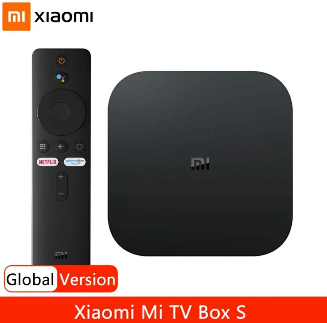 Box Android TV Xiaomi Mi Box S - 4K UHD, 8 Go, 2 Go de RAM