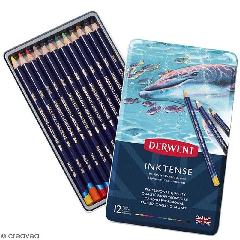 25% de réduction sur tout le matériel d'art Derwent - Ex : Coffret de crayons Derwent Inktense