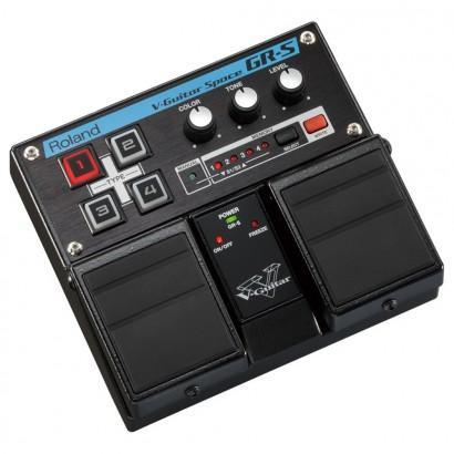 double pédale d'effet Roland GR-S V-Guitar Space pour guitare électrique